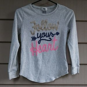 Old Navy Follow Your Heart Thermal XL